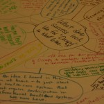 One of three conversation maps from the workshop.